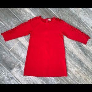 Il Gufo Ruffled Milano Jersey LS Dress